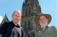 image - Terry Pratchett and Stephen Baxter